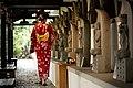 Hualien Ji'an Ching-xiu Yuan, a lady in Yukata, Ji'an Township, Hualien County (Taiwan).jpg