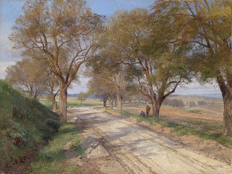 File:Hugo Darnaut Landstra?e bei Plankenberg 1898.jpg