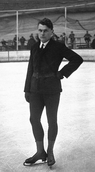 Hugo Distler (figure skater) - Hugo Distler at the 1932 European Championships