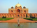 Humayun Tomb, Delhi, running fountain.jpg