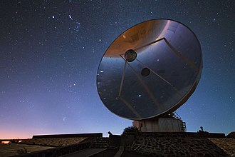 Swedish-ESO Submillimetre Telescope - Image: Hunting stars