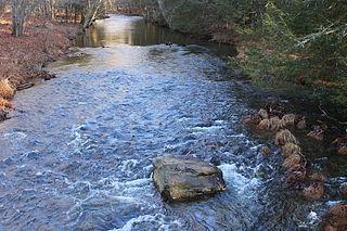 Huntington Creek (Pennsylvania) tributary of Fishing Creek (North Branch Susquehanna River) in Luzerne and Columbia counties, Pennsylvania