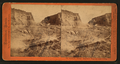 Hydraulic Mining - The Palm Claim, Timbuctoo, Yuba County, from Robert N. Dennis collection of stereoscopic views.png