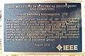 IEEE Milestone plaque - Star of Laufenburg Interconnection 1958.jpg