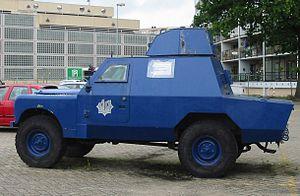 Shorland armoured car - Former Netherlands Police vehicle