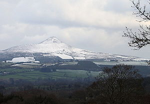 Great Sugar Loaf - The Great Sugar Loaf, from the west