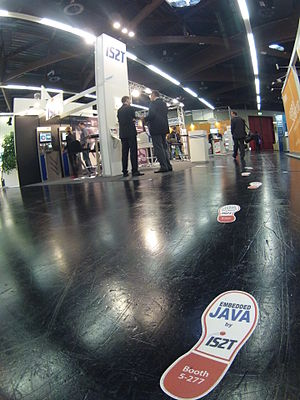Embedded Java - IS2T embedded Java solution at Embedded World exhibition 2014 in Nuremberg