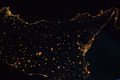 ISS-40 Night View of much of Sicily.jpg
