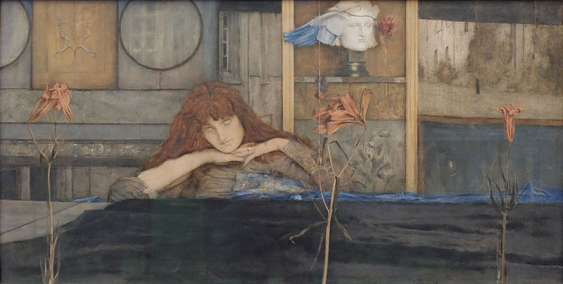 File:I lock my door upon myself Fernand Khnopff 1891.jpg