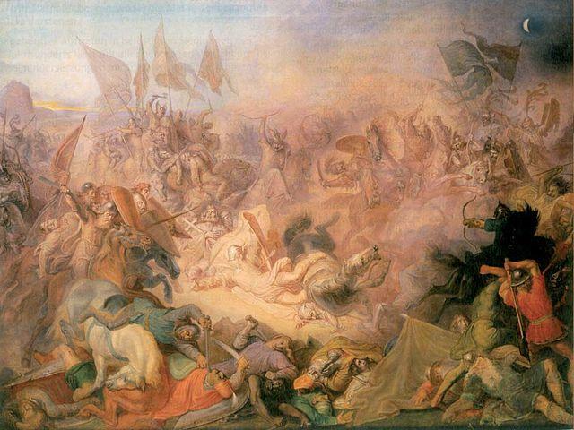 프레스부르크 전투에서 루이트폴트의 죽음