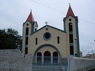 Picos, Cape Verde - São Salvador do Mundo church
