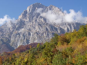 Corno Grande - Corno Grande the east face