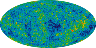 Dark matter - The cosmic microwave background by WMAP