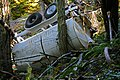 Illegal dumping of vehicles on public land in the Eugene District. - 18559713733.jpg