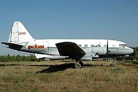 Ил-12 ВВС КНР. Китайский музей авиации