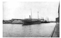 Image of lake freighters from Curwood's 1909 The Great Lakes -ay.png