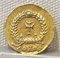Impero d'occidente, valentiniano III, emissione aurea per onoria, 425-454, 02.JPG