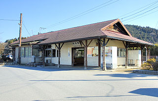 Inada Station Railway station in Kasama, Ibaraki Prefecture, Japan
