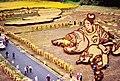 Inakadate-mura Rice Art Harvest 2010 (5206723364).jpg
