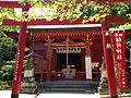 Inari Shrine (No.2 of Okunomiya 8 Shrines) in Miyajidake Shrine.JPG