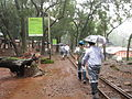 India - Matheran - 28 - picking our way wet down the tracks (2798649889).jpg