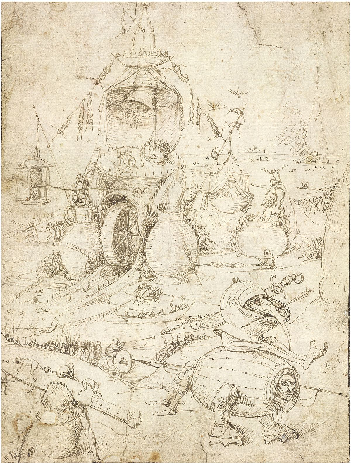 hieronymus bosch drawings wikipedia