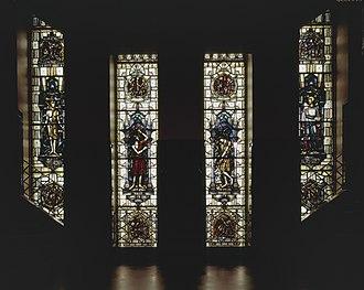De Bazel - Stained glass windows