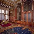 Interieur, bel-etage, voorzijde rechts (Vestibule van de Koninklijke Wachtkamer), interieur, Kamer met 19de eeuwse muurschilderingen en betimmering - Amsterdam - 20392799 - RCE.jpg