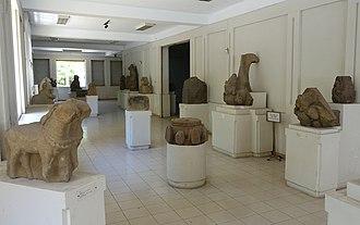 Museum of Cham Sculpture - Image: Interior view Museum of Cham Sculpture Danang, Vietnam DSC01931