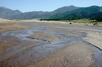 Great Sand Dunes National Park and Preserve - Medano Creek