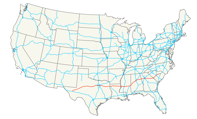 File:Interstate 20 map.png
