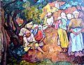 Ion Theodorescu-Sion - Compozitie cu taranci.jpg