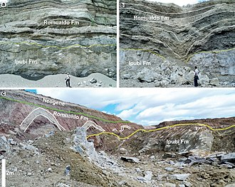 Santana Group - Image: Ipubi and Romualdo Formations outcrop