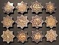 Iran, mattonelle stellate con animali, 1250-1300 ca..JPG