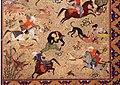 Iran, shiraz, scena di caccia, 1550 ca. 03.jpg