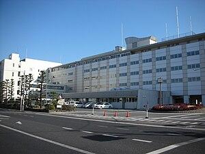 Isesaki, Gunma - Isesaki city hall