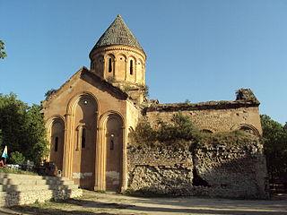 Ishkhani Monastery in Artvin Province, Turkey