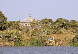Lake Tana - The Island Church on Lake Tana.
