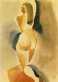 painting by Ismael Nery