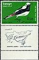 Israeli stamps 1963 - Birds of Israel - Oenanthe.jpg