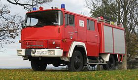 Fire fighting vehicle 8