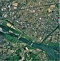 Iwade city center area Aerial photograph.2008.jpg