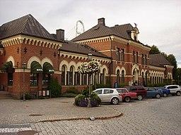 Hallsbergs jænvægstation.