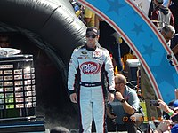 J. J. Yeley at the Daytona 500.JPG