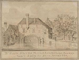 Jacobus Stellingwerff - Spui Amsterdam, 1620