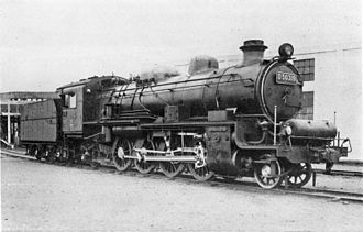 JNR Class D50 - D50 319 in 1935