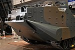 JGSDF AAV7(97-0544) front grille left front view at Niconico chokaigi April 28, 2018 02.jpg