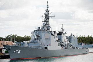 <i>Kongō</i>-class destroyer modification of the United States Navys Arleigh Burke class (Flight I)