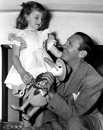 Jack Benny - Benny and daughter Joan in 1940
