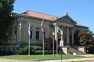 Jacksonville Public Library (Illinois) - Image: Jacksonville Public Library
